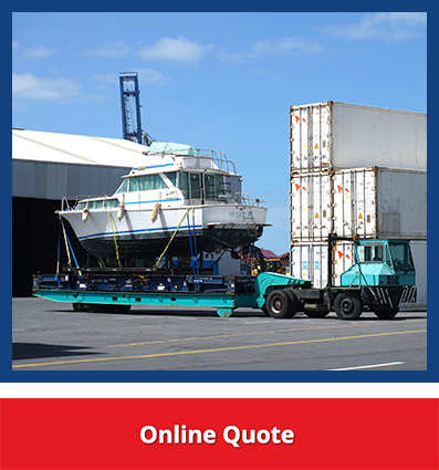 NZ Boat Transporter